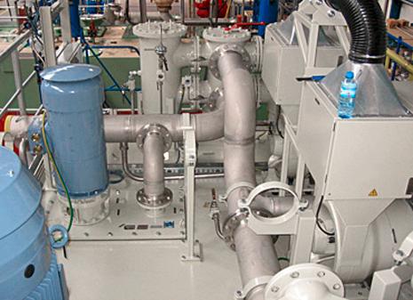 Antriebe für den Energiesektor| Notschmierantrieb Kraftwerke | EW HOF