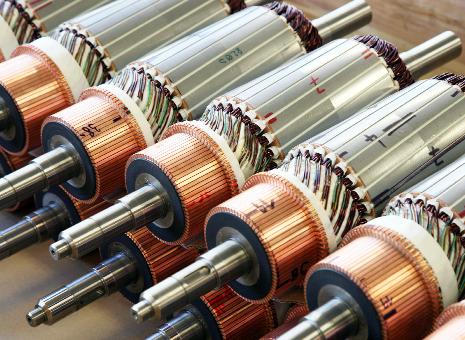 Kompetenzen | Elektromotoren und Generatoren von EW HOF