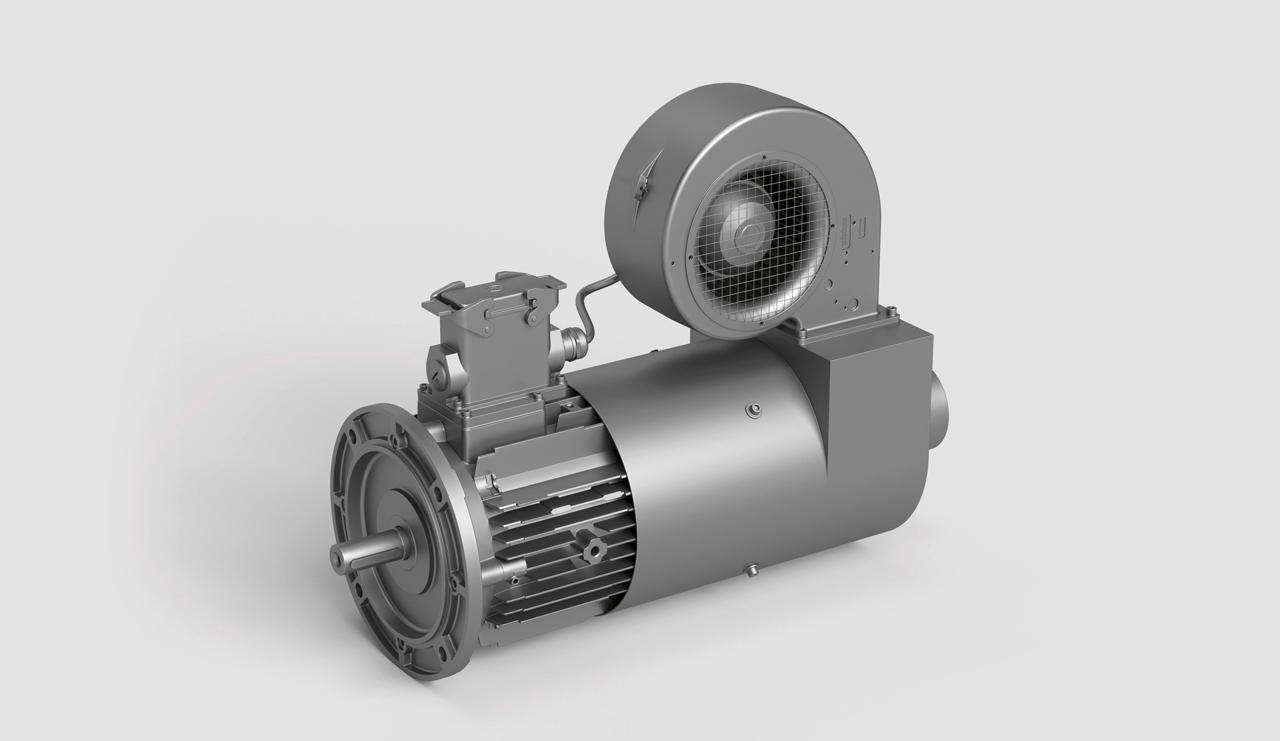 Gleichstrommotor von EW HOF