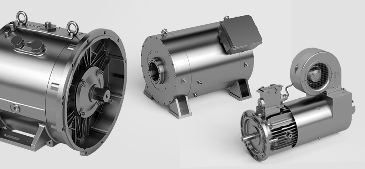 Electric motors and generators from EW HOF