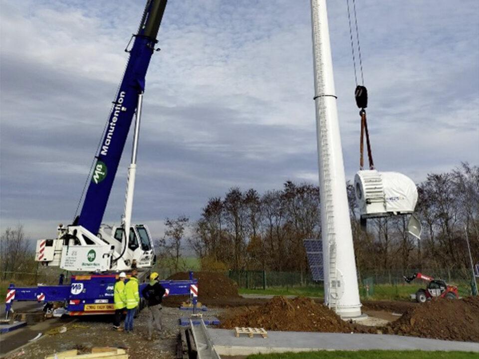EW HOF Windkraftanlagen